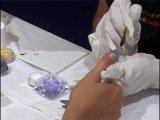 Рисунок на ногтях БАБОЧКИ видео на[WomenX.ru]
